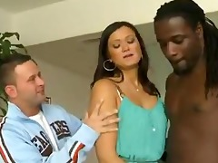 lascivious wife acquires drilled in front of her